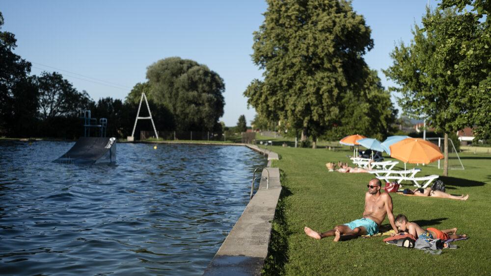 Impressipnen aus dem Lienipark am 30.06.20 iun Wiesendangen. Foto: Stephan Bösch
